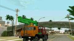 KamAZ 44108 Madera para GTA San Andreas