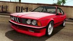 BMW M635CSI E24 1986 V1.0 para GTA San Andreas