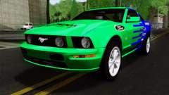 Ford Mustang GT Wheels 2 para GTA San Andreas