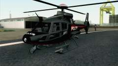 NFS HP 2010 Police Helicopter LVL 3 para GTA San Andreas