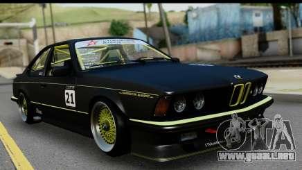 BMW M635 E24 CSi 1984 para GTA San Andreas