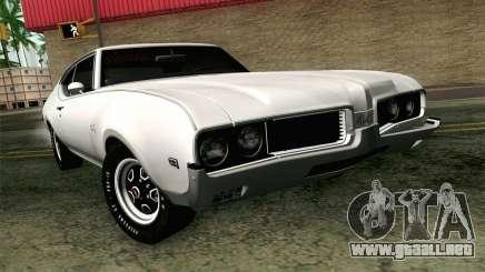 Oldsmobile 442 de Vacaciones Coupe 1969 FIV АПП para GTA San Andreas