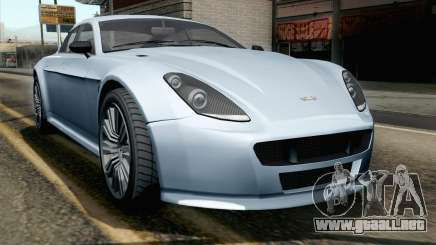 GTA 5 Dewbauchee Exemplar IVF para GTA San Andreas