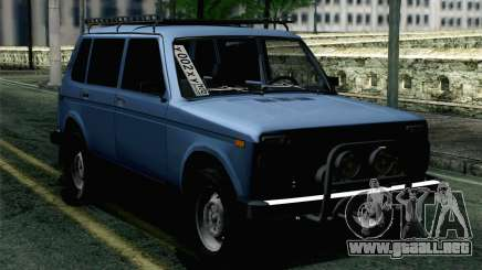 VAZ 2131 Niva 5D para GTA San Andreas