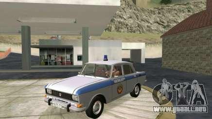 Moskvich 2140 Policía para GTA San Andreas