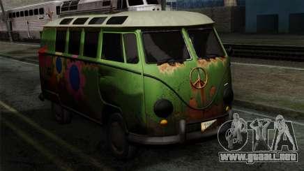 Volkswagen Microbus para GTA San Andreas