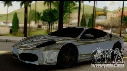 Ferrari F430 Chrome para GTA San Andreas