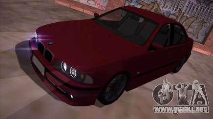 BMW 5-series E39 Vossen para GTA San Andreas