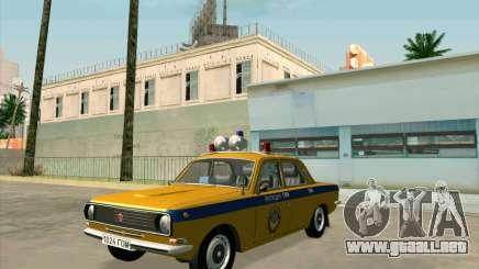 Volga 24-10 GAI para GTA San Andreas