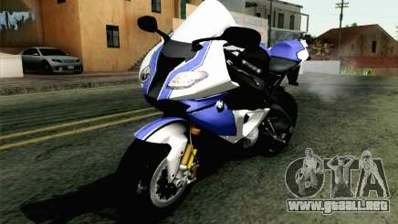 BMW S1000RR HP4 v2 Blue para GTA San Andreas