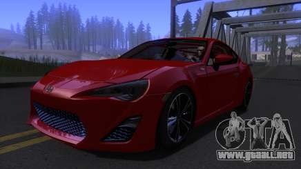 Scion FR-S 2013 Stock v2.0 para GTA San Andreas