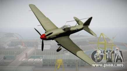 ИЛ-10 de la Fuerza Aérea de Estados unidos para GTA San Andreas