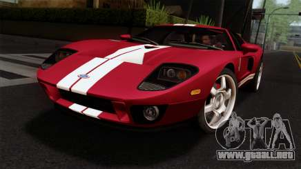 Ford GT FM3 Rims para GTA San Andreas