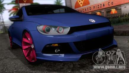Volkswagen Scirocco GT 2009 para GTA San Andreas