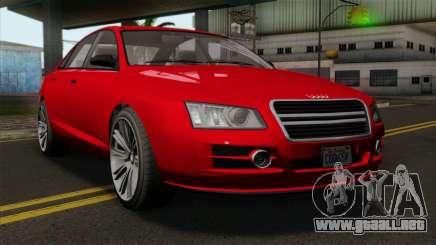 GTA 5 Obey Tailgater para GTA San Andreas