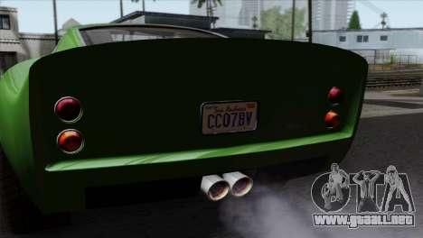 GTA 5 Grotti Stinger GT v2 SA Mobile para la visión correcta GTA San Andreas