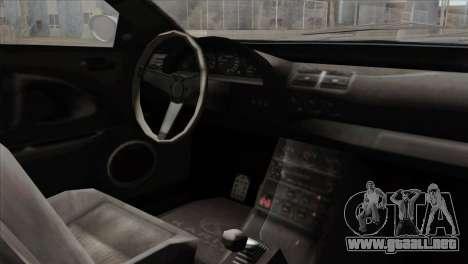 GTA 5 Ubermacht Zion XS Cabrio IVF para la visión correcta GTA San Andreas