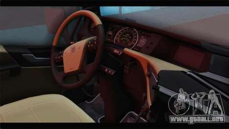 Volvo FH4 para la visión correcta GTA San Andreas