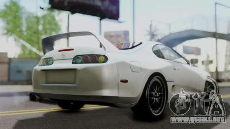 Toyota Supra 1998 FF7 para GTA San Andreas left