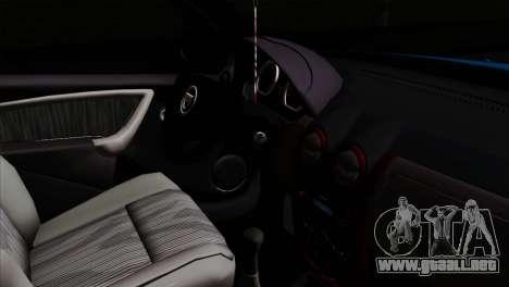 Dacia Duster Van para la visión correcta GTA San Andreas
