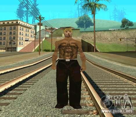 Vagos Skin Pack para GTA San Andreas tercera pantalla