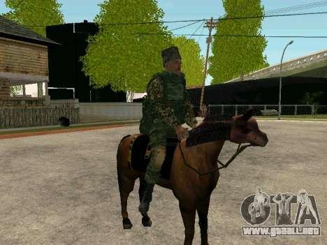 Los Cosacos De Kubán para GTA San Andreas novena de pantalla