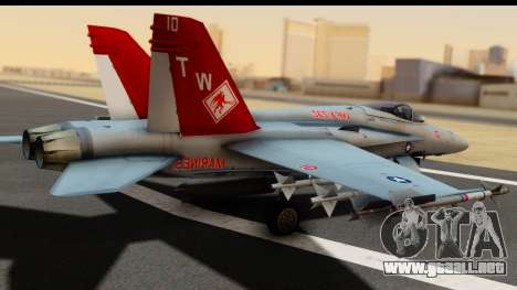 McDonnell Douglas FA-18C Hornet VMFA-232 USMC para GTA San Andreas left