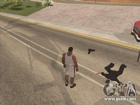 Gran ruso de armas de fuego para GTA San Andreas tercera pantalla