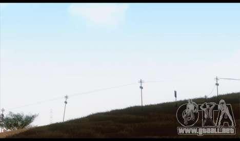 ENB Pavanjit v4 para GTA San Andreas octavo de pantalla