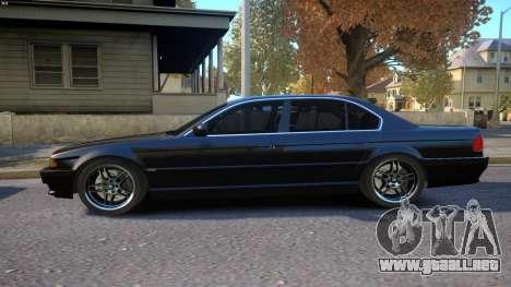 BMW 750i e38 1994 Final para GTA 4 left
