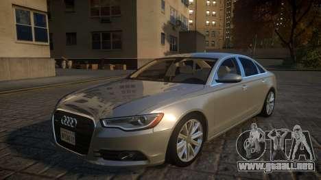 Audi A6 2012 v1.0 para GTA 4
