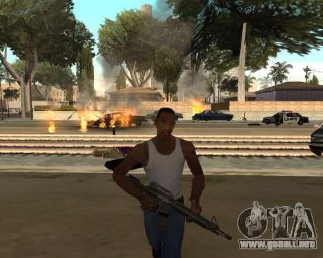 Good Effects v1.1 para GTA San Andreas sucesivamente de pantalla