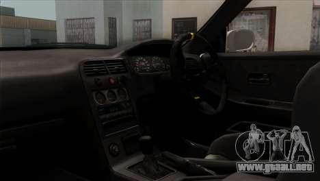 Nissan Skyline R33 Drift JDM para la visión correcta GTA San Andreas