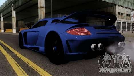 Gemballa Mirage GT v1 Windows Up para GTA San Andreas left