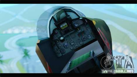 MIG-23ML Yuktobanian Air Force para la visión correcta GTA San Andreas