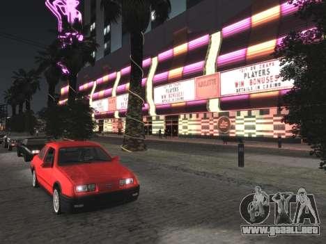 Final De Niza ColorMod para GTA San Andreas