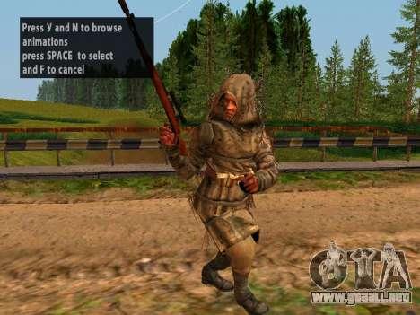 Soviética De Francotirador para GTA San Andreas quinta pantalla