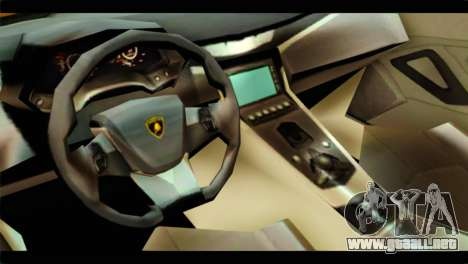 Lamborghini Estoque para la visión correcta GTA San Andreas