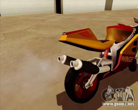 NRG-500 Winged Edition V.2 para vista inferior GTA San Andreas