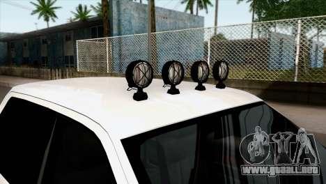 Ford F-150 4X4 Off Road para la visión correcta GTA San Andreas