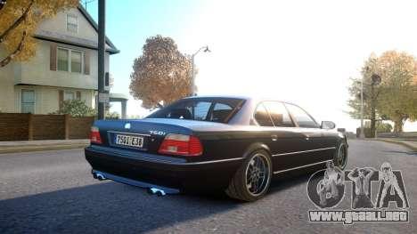 BMW 750i e38 1994 Final para GTA 4 visión correcta