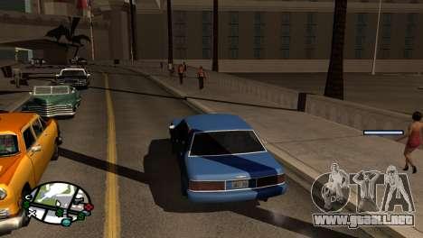 Nueva sombra sin perder FPS para GTA San Andreas segunda pantalla
