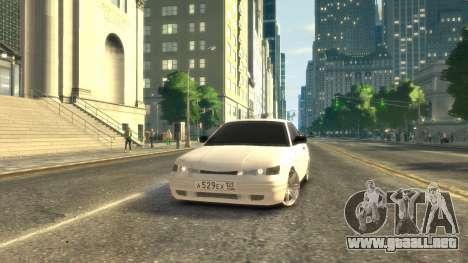 VAZ 2112 coupe BadBoy para GTA 4 left