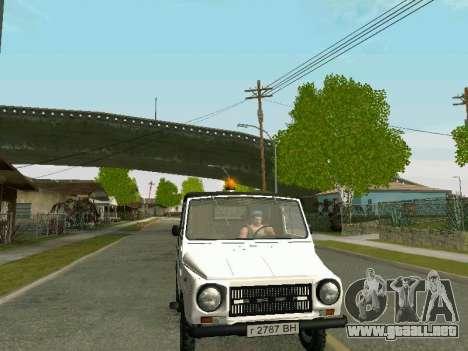 LuAZ-2403 Aeroflot para la visión correcta GTA San Andreas