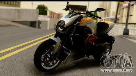 Ducati Diavel 2012 para GTA San Andreas