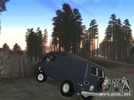 Final De Niza ColorMod para GTA San Andreas quinta pantalla