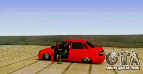 VAZ 2170 LA БПАN para GTA San Andreas left
