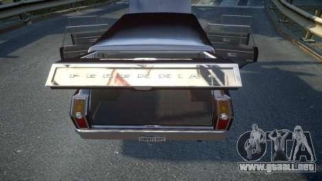 GTA III Perennial High Poly para GTA 4 vista superior