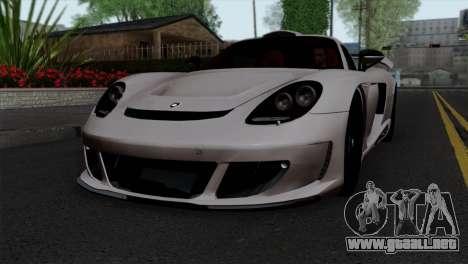 Gemballa Mirage GT v1 Windows Down para GTA San Andreas