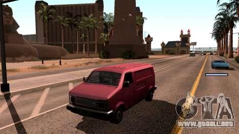 Nueva sombra sin perder FPS para GTA San Andreas sucesivamente de pantalla